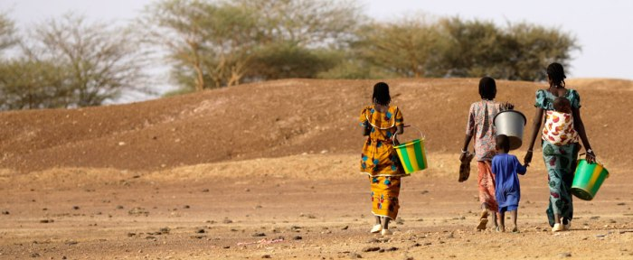 Ourare Allaye Temp village in Mondoro region of Mali.