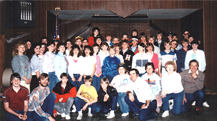 Cathedral Pines Camp Group, 1986 (1)
